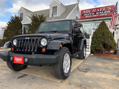 2008 Jeep Wrangler for sale in Derry, NH