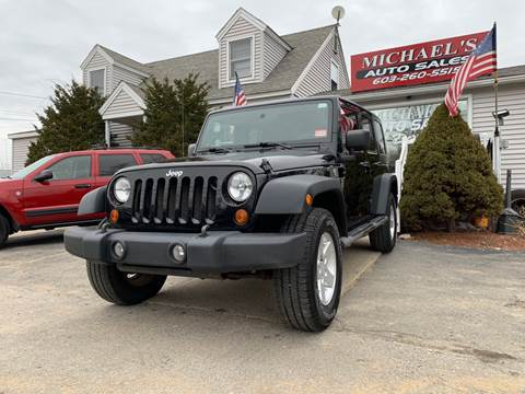 2009 Jeep Wrangler Unlimited for sale in Derry, NH
