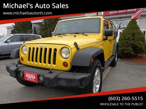 2008 Jeep Wrangler Unlimited for sale at Michael's Auto Sales in Derry NH