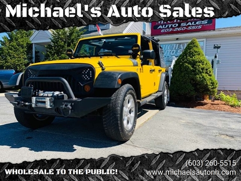 2008 Jeep Wrangler Unlimited for sale in Derry, NH