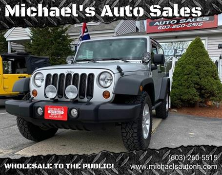 2011 Jeep Wrangler for sale in Derry, NH