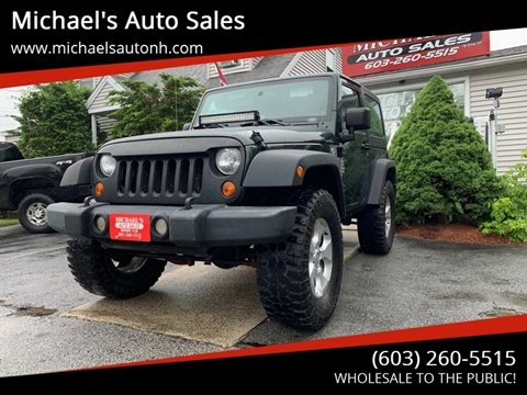 2010 Jeep Wrangler for sale in Derry, NH