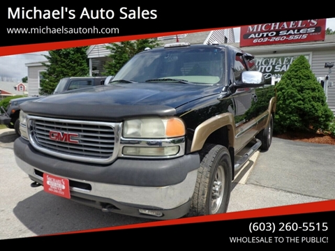 2001 GMC Sierra 2500HD for sale in Derry, NH