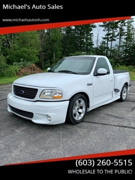 2001 Ford F-150 SVT Lightning for sale at Michael's Auto Sales in Derry NH