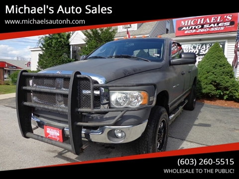 2005 Dodge Ram Pickup 2500 for sale at Michael's Auto Sales in Derry NH