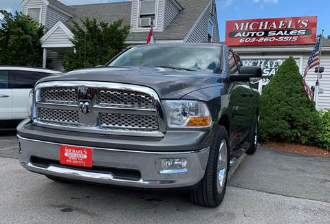 2009 Dodge Ram Pickup 1500 for sale at Michael's Auto Sales in Derry NH