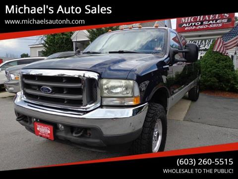 2002 Ford F-250 Super Duty for sale at Michael's Auto Sales in Derry NH