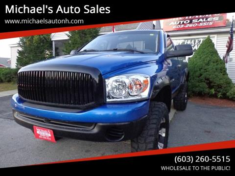 2007 Dodge Ram Pickup 1500 for sale at Michael's Auto Sales in Derry NH