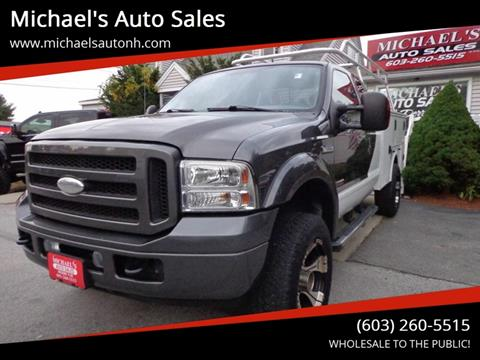 2005 Ford F-350 Super Duty for sale at Michael's Auto Sales in Derry NH