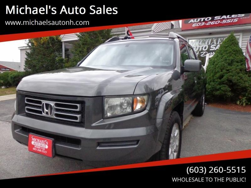 2008 Honda Ridgeline for sale at Michael's Auto Sales in Derry NH