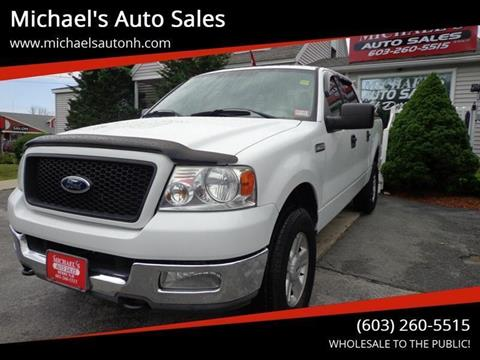 2004 Ford F-150 for sale at Michael's Auto Sales in Derry NH
