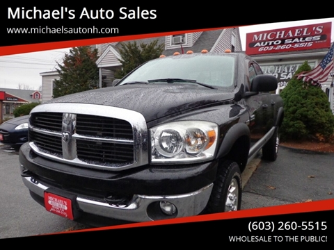 2007 Dodge Ram Pickup 2500 for sale at Michael's Auto Sales in Derry NH