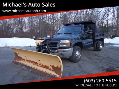 2006 GMC Sierra 3500 for sale in Derry, NH