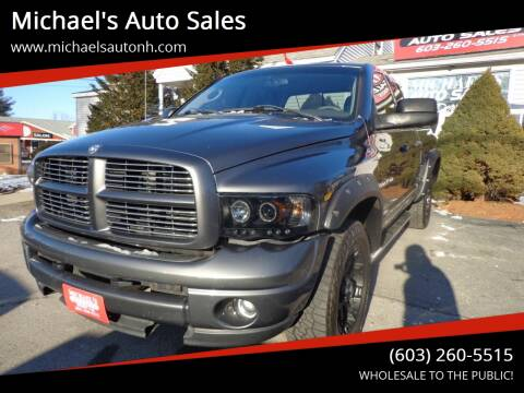 2004 Dodge Ram Pickup 1500 for sale at Michael's Auto Sales in Derry NH