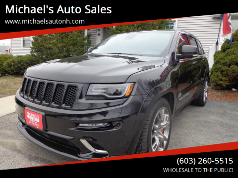 2014 Jeep Grand Cherokee for sale at Michael's Auto Sales in Derry NH
