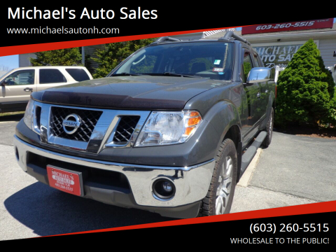 2010 Nissan Frontier for sale at Michael's Auto Sales in Derry NH