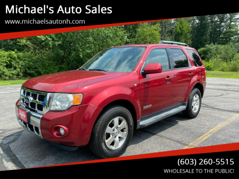 2008 Ford Escape for sale at Michael's Auto Sales in Derry NH