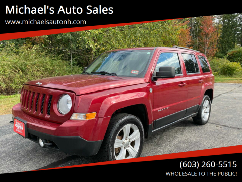 2012 Jeep Patriot for sale at Michael's Auto Sales in Derry NH