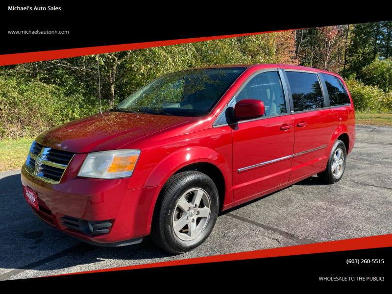 2008 Dodge Grand Caravan for sale at Michael's Auto Sales in Derry NH