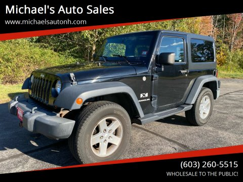 2007 Jeep Wrangler for sale at Michael's Auto Sales in Derry NH