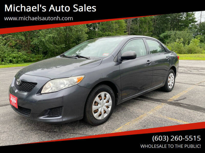 2009 Toyota Corolla for sale at Michael's Auto Sales in Derry NH