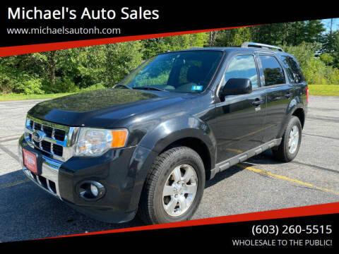2011 Ford Escape for sale at Michael's Auto Sales in Derry NH