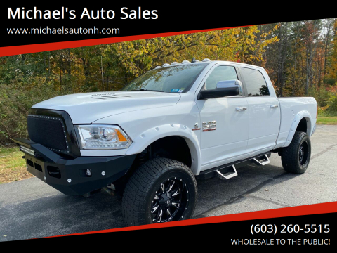 2016 RAM Ram Pickup 2500 for sale at Michael's Auto Sales in Derry NH