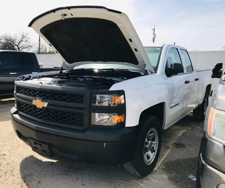 2014 Chevrolet Silverado 1500 4x2 Work Truck 4dr Double