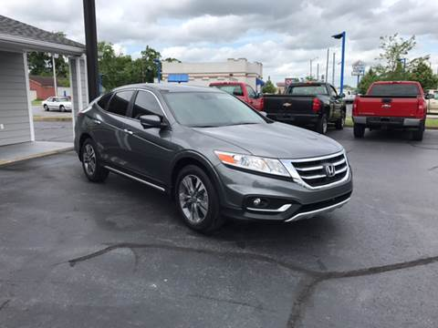 2013 Honda Crosstour for sale at Rudy's Auto Sales in Columbus IN