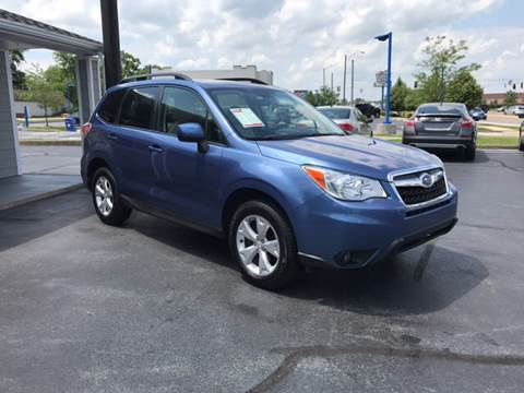 2016 Subaru Forester for sale at Rudy's Auto Sales in Columbus IN