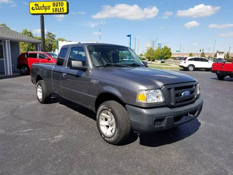 2007 Ford Ranger for sale at Rudy's Auto Sales in Columbus IN