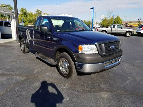 2007 Ford F-150 for sale at Rudy's Auto Sales in Columbus IN