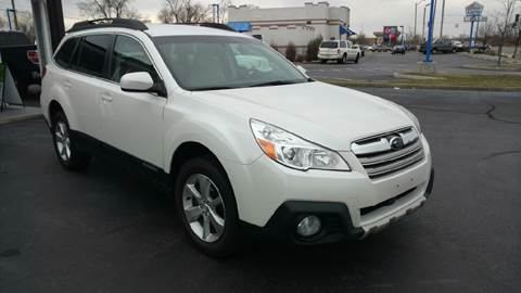 2014 Subaru Outback for sale at Rudy's Auto Sales in Columbus IN