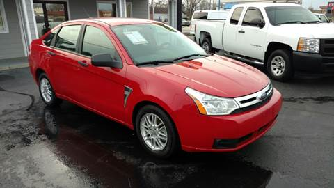 2008 Ford Focus for sale at Rudy's Auto Sales in Columbus IN