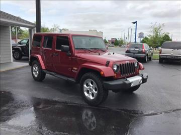 2013 Jeep Wrangler Unlimited for sale at Rudy's Auto Sales in Columbus IN