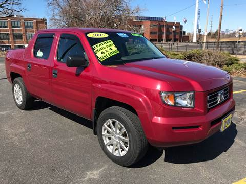 2006 Honda Ridgeline RT for sale at Fields Corner Auto Sales in Dorchester MA