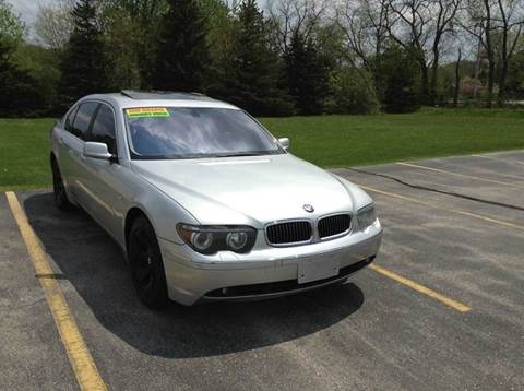 2002 BMW 7 Series for sale at Airport Motors in Saint Francis WI
