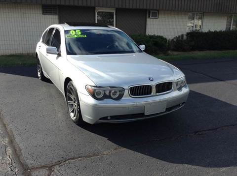 2005 BMW 7 Series for sale at Airport Motors in Saint Francis WI