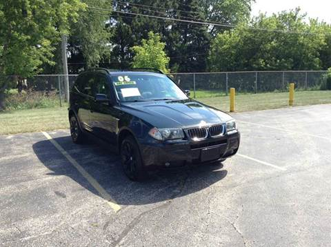 2006 BMW X3 for sale at Airport Motors in Saint Francis WI