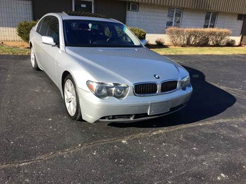 2003 BMW 7 Series for sale at Airport Motors in Saint Francis WI
