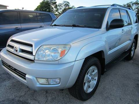 2004 Toyota 4Runner for sale in West Palm Beach, FL