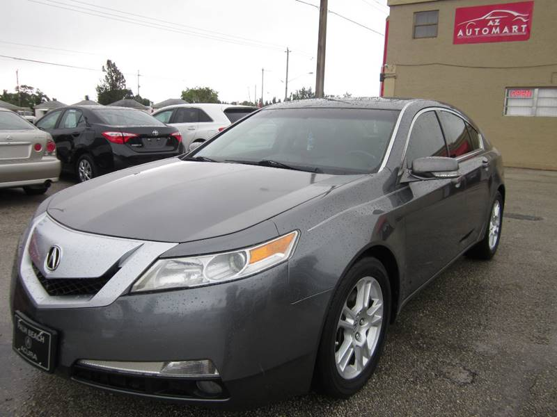 Acura Tl Dr Sedan In West Palm Beach FL A TO Z AUTOMART - Acura of west palm beach