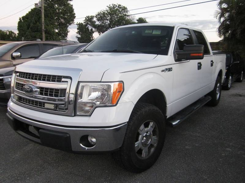 2013 Ford F 150 4x2 Xlt 4dr Supercrew Styleside 5 5 Ft Sb In West