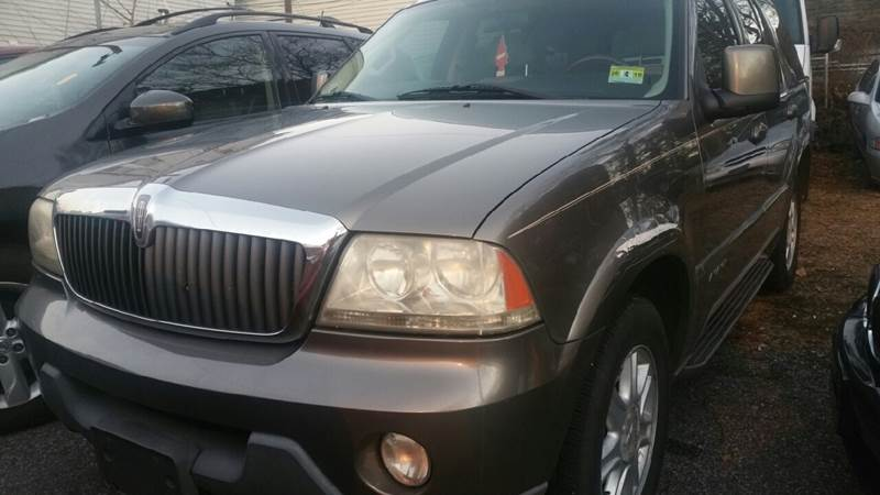 2003 Lincoln Aviator Awd Luxury 4dr Suv In Garfield Nj Mike S Auto