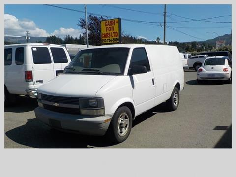 2005 Chevrolet Astro Cargo for sale in Vancouver, BC