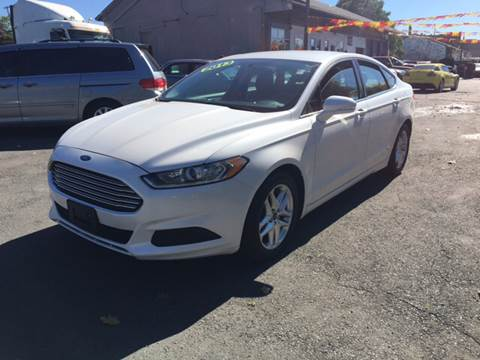 2013 Ford Fusion for sale in Holyoke, MA