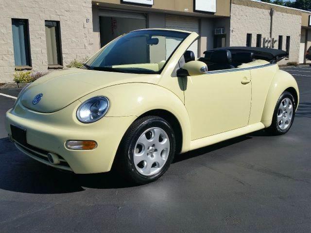 2003 Volkswagen Beetle for sale at Beaverton Auto Wholesale LLC in Hillsboro OR