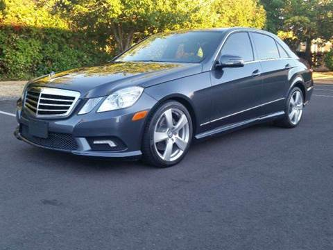 2011 Mercedes-Benz E-Class for sale at Beaverton Auto Wholesale LLC in Aloha OR