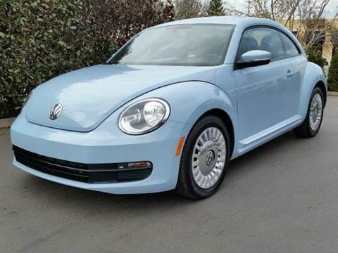 2013 Volkswagen Beetle for sale at Beaverton Auto Wholesale LLC in Hillsboro OR