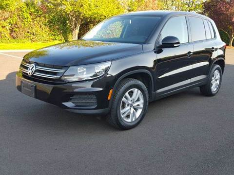 2012 Volkswagen Tiguan for sale at Beaverton Auto Wholesale LLC in Aloha OR